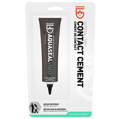 GEAR AID Aquaseal Neo Contact Cement 1.5 OZ (Glue Wetsuit)