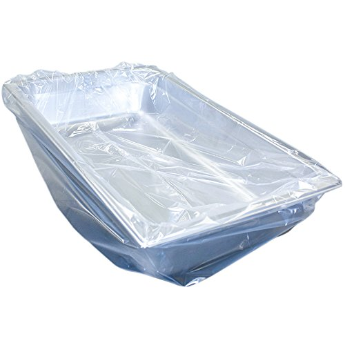 - Handgards Ovenable Pan Liners - 34 in x 16 in Nylon Cooking Bag - 100 count - Fits Full and Half Long Pans