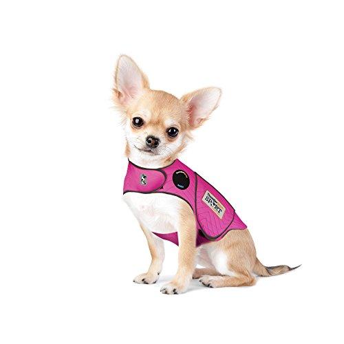 Thundershirt Sport Dog Anxiety Jacket, Fuchsia, XX-Small