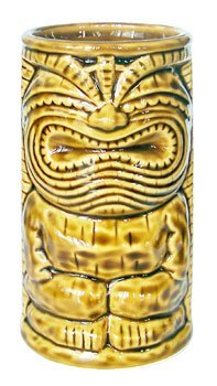 Happy Vintage Tiki Mug 6'' X 3'' by KC Hawaii by KC Hawaii