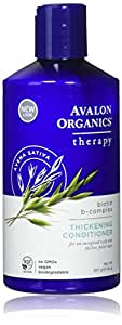 Avalon Organics Thickening Conditioner, 14 Ounce (Pack of 3)