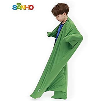 Sanho Yopo Dynamic Movement Sensory Sox, Medium, 6-9 years old, 47''LX27''W Green
