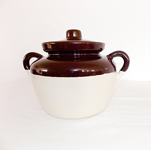 Small Bean Pot - Ohio Stoneware Bean Pot