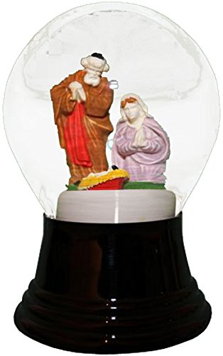 Alexander Taron Importer PR1453 Perzy Decorative Snowglobe with Medium Mission, 5'' x 3'' x 3'' by Alexander Taron Importer