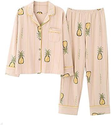KPOON Pijama de Mujer For Mujer Pijamas Set Conjunto de Pijama de ...