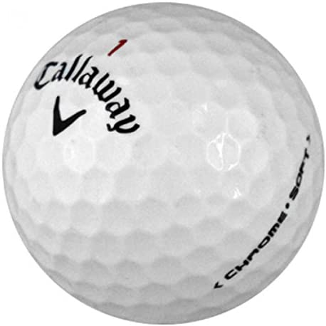 Callaway Chrome Soft – Premium Mint Quality – 48 Golf Balls