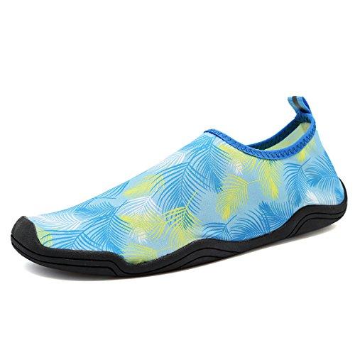 FANTURE Männer und Frauen Multifunktionale Barfuß Schuhe Wasser Schuhe Blau03