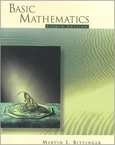Book Basic Mathematics (8th Edition)