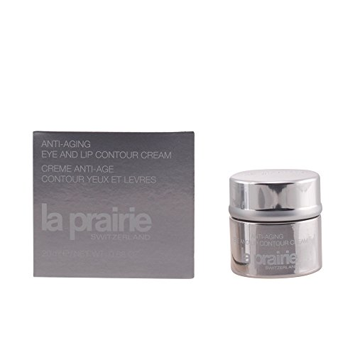 La Prairie Anti-Aging Eye/Lip Contour Cream for Unisex, 0.68 Ounce by La Prairie