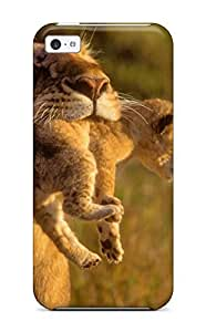 Fashionable Style Case Cover Skin For Iphone 5c- Lion