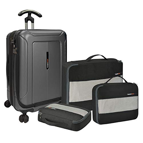 Suiter Rolling Luggage (Traveler's Choice Barcelona Dual Compartment 22
