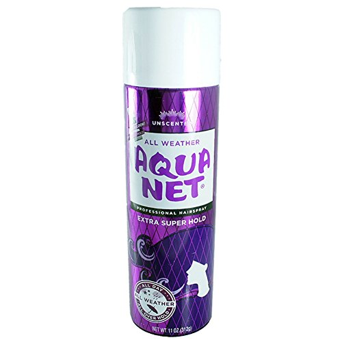 Aqua Net Extra Super Hold Professional Hair Spray Unscented 11 oz