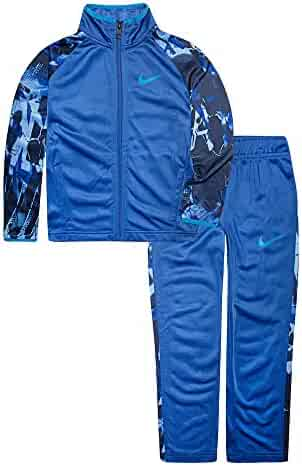 96bc89f6cc Nike Children's Apparel Boys' Little Tricot Track Suit 2-Piece Outfit Set