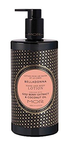 Mor Emporium Hand & Body Lotion, Belladonna, 16.9 Fluid Ounce