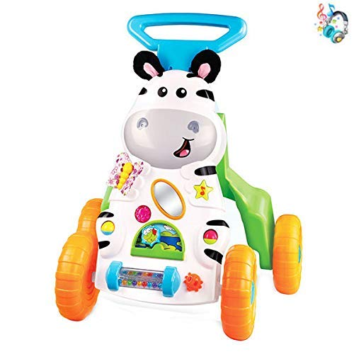 Smart Learning Zebra Walker w/Hours of Play for Toddlers