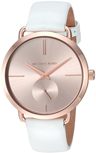 Michael Kors Women's Portia White Watch - And Kors Michael Gold White