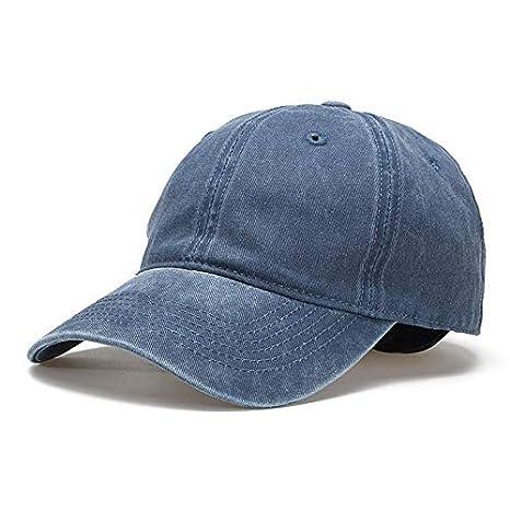00f93c1ada4 Image Unavailable. Image not available for. Color  ALWLj Unisex Retro  Washed Denim Baseball Cap Visor Peaked Snapback Hat Women Men Summer Spring  Breathable