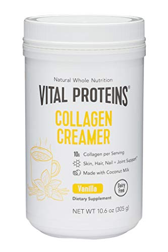 Collagen Connective Tissue - Vital Proteins Vanilla Collagen Creamer