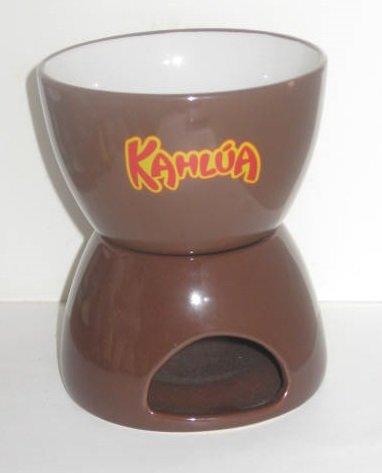 Kahlua liqueur / Candle Tea Light Warmer 2 pc Ceramic ()