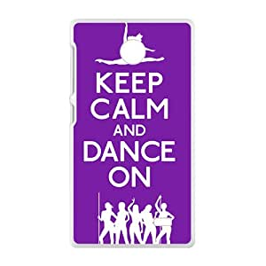 Keep Calm And Dance ON Bestselling Hot Seller High Quality Case Cove For Nokia Lumia X