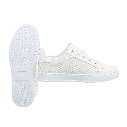 M&Co m Women's Low-Top Sneakers Weiss Low QzWa4G3iC