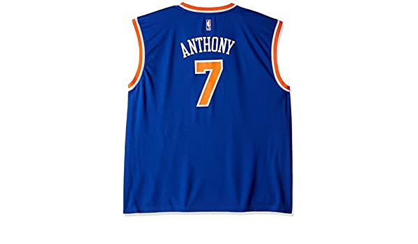 Adidas NBA New York Knicks Carmelo Anthony # 7 la réplica de la Camiseta de los Hombres, Hombre, 7818-Men-Road, Road, 3XL: Amazon.es: Deportes y aire libre