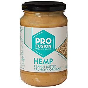 Profusion Organic Hemp Peanut Butter 350g (Pack of...