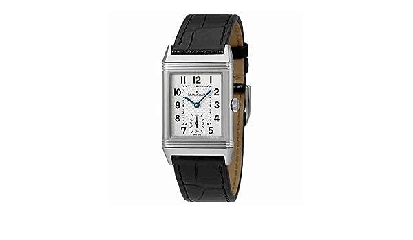 Jaeger LeCoultre Reverso clásico plata Dial Mens mano herida reloj q2438520: Amazon.es: Relojes