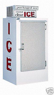 Leer Model 30 Outdoor Ice Merchandiser