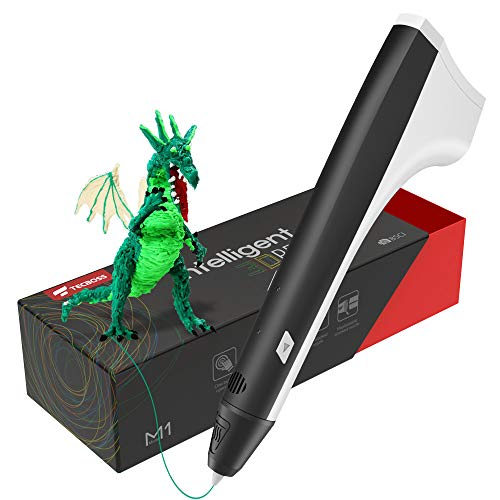 TECBOSS 3D Pen, Upgraded M1 3D Printing Pen for Kids, 3D Printer Pen Compatible with PLA Filament, Lightest User-Friendly Design