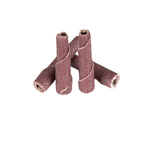 Straight Pack of 100 1//2 Diameter x 1-1//2 Length 3M Cartridge Roll 341D P180 Grit