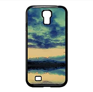 Mirror Lake Watercolor style Cover Samsung Galaxy S4 I9500 Case (Lakes Watercolor style Cover Samsung Galaxy S4 I9500 Case)