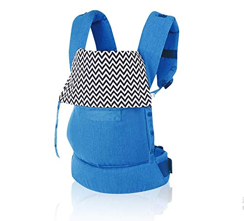Cheap OPYUT Baby Shoulder Strap Front Shoulder Type Waist Waist Stool Four Seasons Versatile Multifunctional Newborn Baby Portable Baby Belt(Blue)