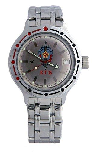 Vostok Russian Watch Movement (Vostok Amphibian Military Russian Diver Watch KGB CCCP 2416 / 420892)
