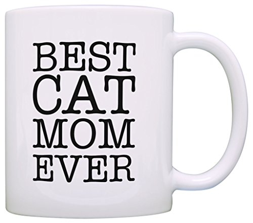 Cat Mom Gifts Best Cat Mom Ever Pet Animal Lover Gift Coffee Mug Tea Cup 41CP8s RfML