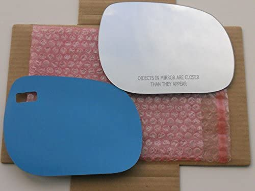 New Replacement Mirror Glass with FULL SIZE ADHESIVE for 2006-2011 TOYOTA RAV4 Passenger Side View Right RH