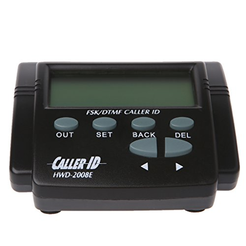 Yuly New Dual Signal FSK/DTMF Telephone Call Box Caller ID Mobile Phone LCD Display HOT (Caller Screen Large Id)