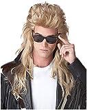 Morris - 80s Rock Mullet (Blonde) Adult Wig