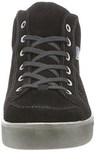 RicostaFranjo - Zapatillas niños negro - Schwarz (schwarz 090)