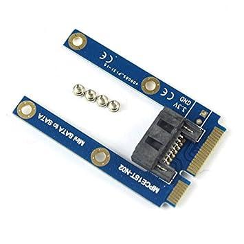 XT-XINTE Mini PCI-E mSATA SSD a Flat SATA 7pin Disco duro PCBA ...