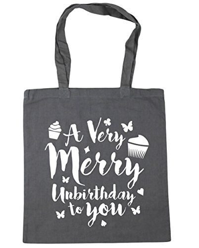 You 42cm x38cm Beach Tote Merry 10 To litres Bag Grey Graphite Unbirthday HippoWarehouse Very Shopping A Gym P4xqnXU