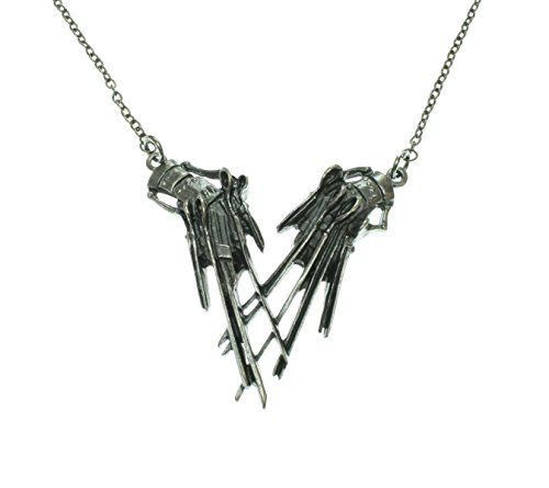 Edward Scissorhands Pendant Necklace]()