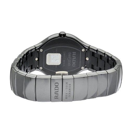 e399ba2bfea Rado Men s R27653172 True Jubile Polished Black Ceramic Watch - Import It  All