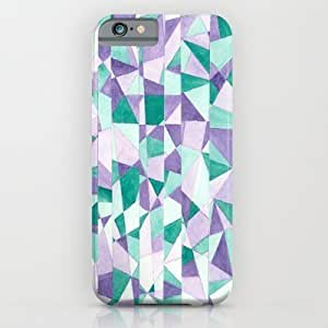 Society6 - #103. Jenni (abstract Stained Glass) iPhone 6 Case by Sylvieceres