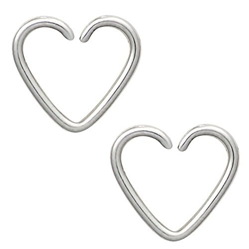 Assorted Heart Seamless Cartilage Earring