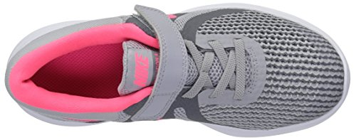 Nike Girls' Revolution 4 (PSV) Running Shoe, Wolf Racer Pink-Cool Grey-White, 2Y Child US Little Kid by Nike (Image #7)
