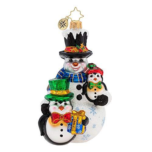 Christopher Radko Three's Company Christmas Ornament, ()