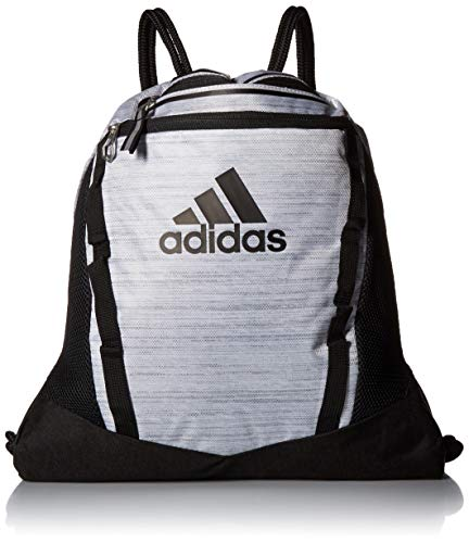 - adidas Rumble II Sackpack, White Two Tone/Black, One Size
