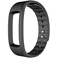 ShopyStore Black 3 Colors Silicone Band Strap Replace Accessories for Iwownfit I6 Hr I6 I3 Hr I3 Smart