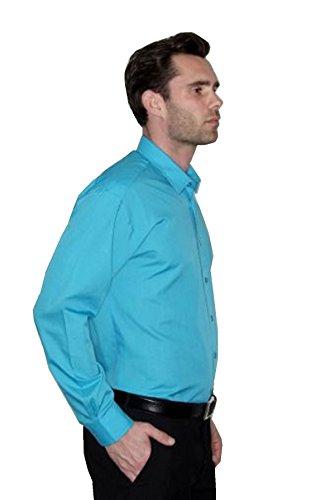 Camicia Acceso In Uomo Rosa Premier Manica Popeline Lunga Rd0vnwq5